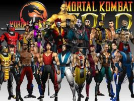 MORTAL KOMBAT CHARACTERS by 66zangief99