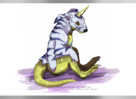 Gabumon by umbrafen