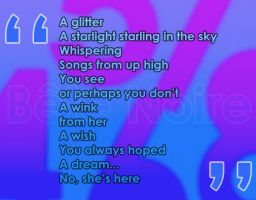 Isabel's Poem by Obinice