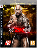WWE 2K Costume Cover - The Rock by xXMAGICxXxPOWERXx