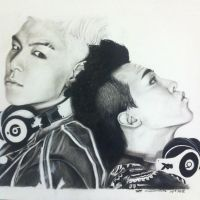 G. Dragon and Top by Telli55