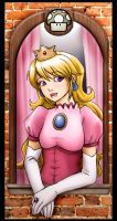 Good Morning, Peach by feastuponmyashes