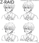Commission: Expression Set by Z-Raid