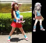 Cosplay Blue  Pokemon Special by MishiroMirage