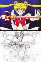 Super Sailor Moon by WhiteMageRinny