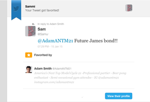 Adam SMith ANtm cycle 21 love by shyho