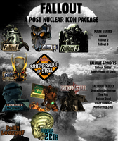 A Post Nuclear Icon Package by oloff3
