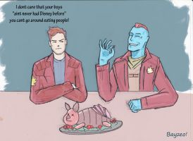What if Piglet joined the Guardians of the Galaxy? by AdamBayes