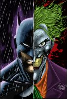 Batman and Joker by SWAVE18