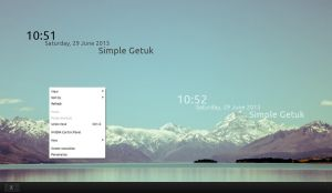 Simple Getuk Clock 1.0 by s4r1n994n