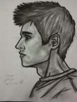 Profile Picture Charcoal by LCMorganTDA