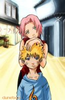 To be young - Naruto + Sakura by duneboo