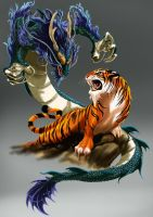 DragAo Tigre Tattooooooooo by Archiri