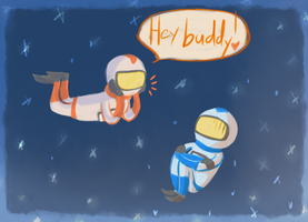 spacemen by FrigginGodess
