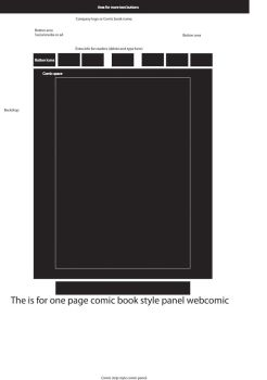 Web comic Template by ThePhantomComics