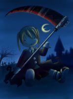 Dark doll Maka??? by CyberSaku