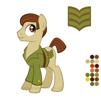 Reference Sheet: Sergeant Benton by LissyStrata