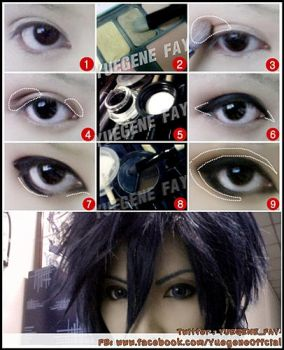 Basic Cosplay Make Up by yuegene