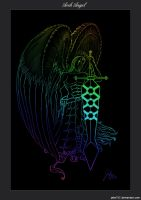 Arch Angel Colored Line Art by Jake192