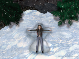 Snow Angel by Quiet2