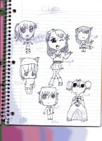 Chibi Page by faither1382