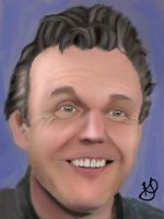 Anthony Head digital coloring by Karirae2010