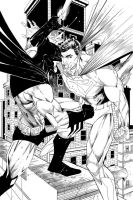 Superman VS Batman by JonMalin