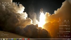 Shuttle Launch by WK-Graphic