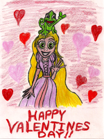 Rapunzel Valentine by Code-E
