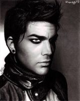 Adam Lambert V-Man portrait by topazholly90