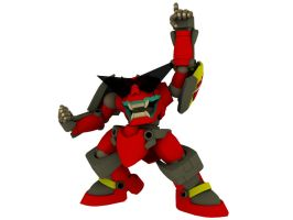 3D Gurren by Ultimatetransfan