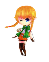 Linkle Chibi ~ by Shiiyou