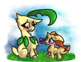 PKMNation:: A Flower for You~ by Joltimeon