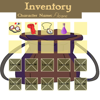 Floane Inventory by Peaches-n-Charlotte
