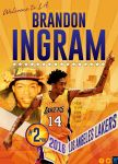Welcome to the Lakers Brandon Ingram by YaDig