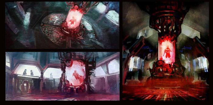 Reactor Control Room Roughs by M0nkeyBread