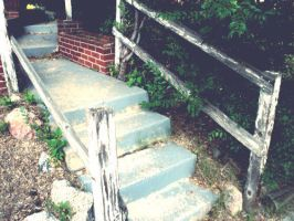 The Rotten Stairs by queencowboy