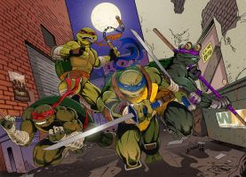 TMNT (Color) by DanBoy0812