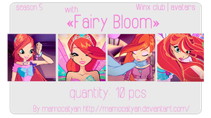 Fairy Bloom| avatars collection. by Mamocatyan