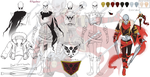 [UNDERFELL] Papyrus 'Boss' character sheet by Aashur