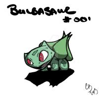 001 Bulbasaur by x-Casualty-x