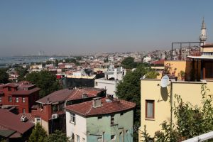 Istanbul - Old Town at Marmara Sea by puppeteerHH