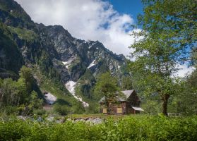 Enchanted Valley Cabin by shawnstorm