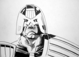 judge dredd sketch 2 by sigma958