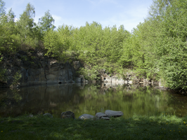 flooded quarry 3 by oosstock