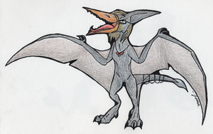 I AM THE PTERODACTYL QUEEN by TroubledCobra