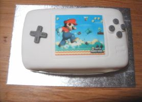 New Super Mario Bros. Cake by xFlowerstarx