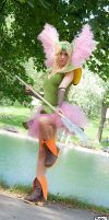 Riesz Cosplay , SECRET OF MANA by Queen-Azshara