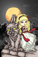 The Ghost and the Gargoyle by JadeDragonne