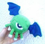 Gawk Plushie by papersouls
